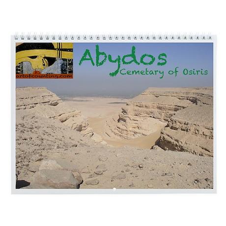Abydos: Cemetary of Osiris--Wall Calendar