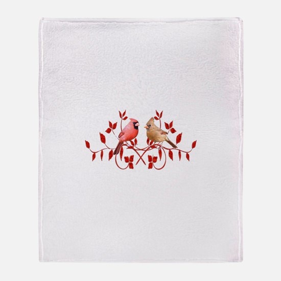 Love Birds Throw Blanket