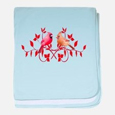 Love Birds baby blanket