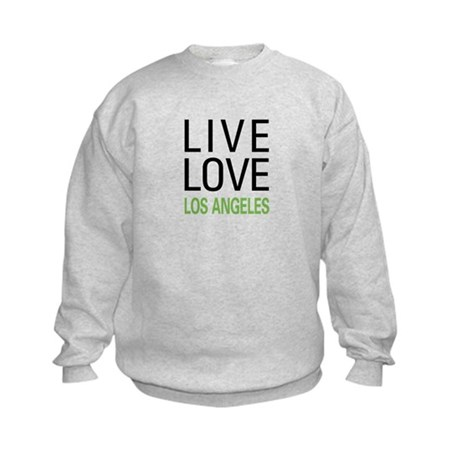 Live Love Los Angeles Kids Sweatshirt