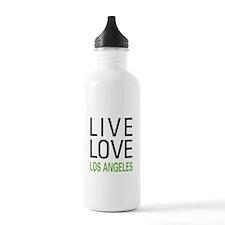 Live Love Los Angeles Water Bottle