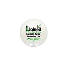 Organ Donor Registry Mini Button (10 pack)