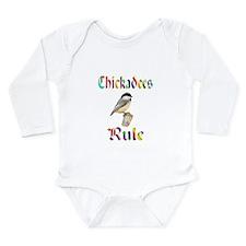 Chickadees Rule Long Sleeve Infant Bodysuit