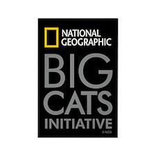 Big Cats Initiative Rectangle Magnet