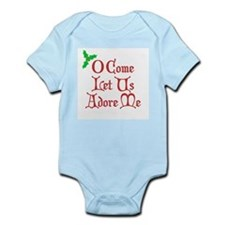 O Come Let Us Adore Me Infant Bodysuit