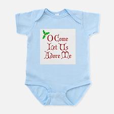 O Come Let Us Adore Me Infant Bodysuit