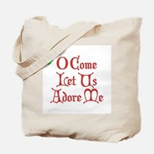 O Come Let Us Adore Me Tote Bag