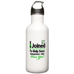 Organ Donor Registry Water Bottle