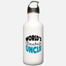 Worlds Greatest Uncle Water Bottle