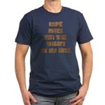 Rope Rack Shirt on My Back Men's Fitted T-Shirt (d