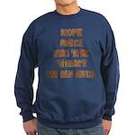 Rope Rack Shirt on My Back Sweatshirt (dark)