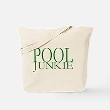 Pool Junkie Tote Bag