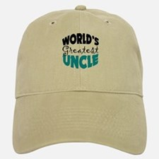 Worlds Greatest Uncle Baseball Baseball Cap