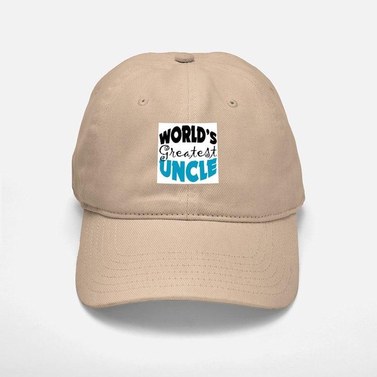 Worlds Greatest Uncle Baseball Baseball Cap