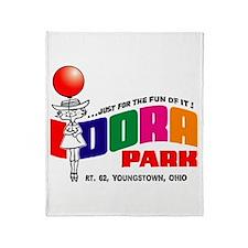 Idora Park Balloon Throw Blanket
