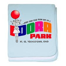 Idora Park Balloon baby blanket