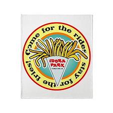 Idora Fries Throw Blanket