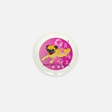 Fawn Pug Mini Button (10 pack)