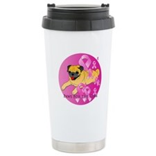 Fawn Pug Travel Mug