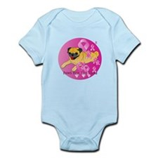 Fawn Pug Infant Bodysuit