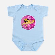 Fawn Pug Infant Bodysuit