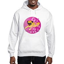 Fawn Pug Hoodie