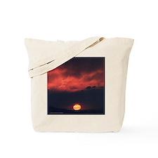Burning at Dawn- Tote Bag