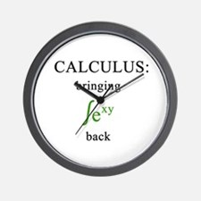 Calculus Wall Clock