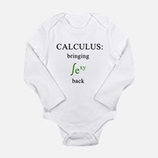 Calculus Long Sleeve Infant Bodysuit