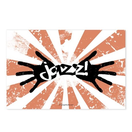 Jazz Hands Postcards (Package of 8)