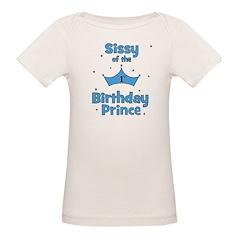 Sissyofthe 1st Birthday Princ Tee