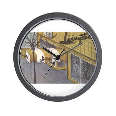 Department stores! Wall Clock