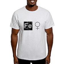 Iron Woman Symbol T-Shirt