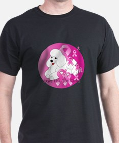White Poodle T-Shirt