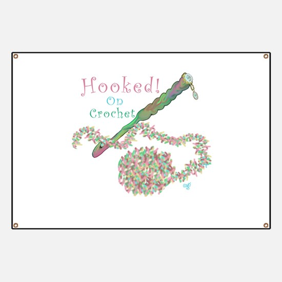 Hooked On Crochet Banner