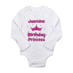 1st Birthday Princess Jasmine Long Sleeve Infant B