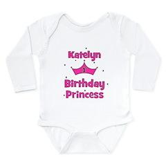 1st Birthday Princess Katelyn Long Sleeve Infant B