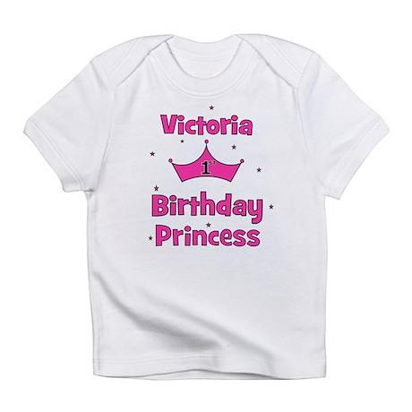 1st Birthday Princess Victori Infant T-Shirt