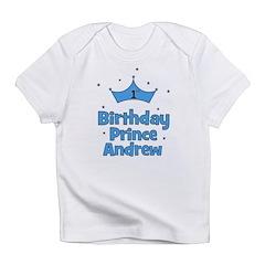 1st Birthday Prince Andrew! Infant T-Shirt