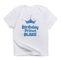 CUSTOM - 1st Birthday Prince! Infant T-Shirt