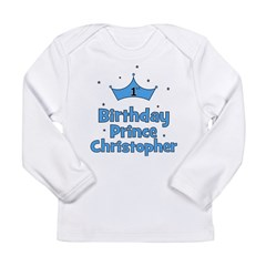 1st Birthday Prince CHRISTOPH Long Sleeve Infant T