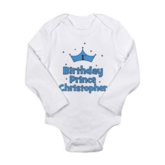 1st Birthday Prince CHRISTOPH Long Sleeve Infant B