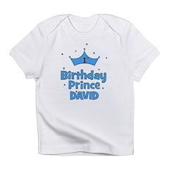 1st Birthday Prince David! Infant T-Shirt