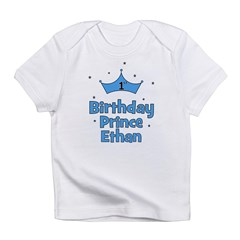 1st Birthday Prince ETHAN! Infant T-Shirt