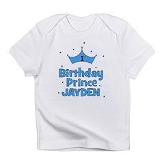 1st Birthday Prince - Jayden Infant T-Shirt