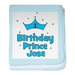 1st Birthday Prince JOSE! baby blanket