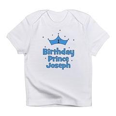 1st Birthday Prince JOSEPH! Infant T-Shirt