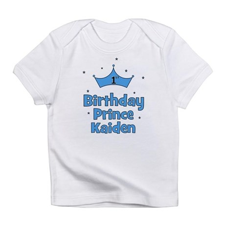 1st Birthday Prince Kaiden! Infant T-Shirt
