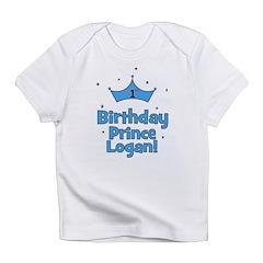 1st Birthday Prince Logan! Infant T-Shirt