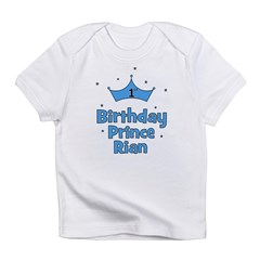 1st Birthday Prince Rian! Infant T-Shirt